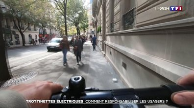 Trottinettes électriques : comment responsabiliser les usagers ?