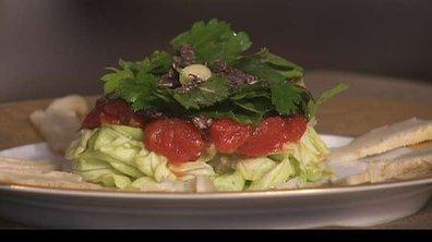 Salade de truffe au persil