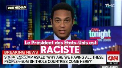 Trump traite des pays africains de « pays de merde »