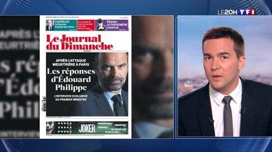 """Tuerie à la préfecture de Paris : Edouard Philippe a """"toute confiance en Christophe Castaner"""""""