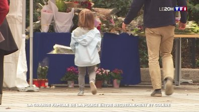 Tuerie à la préfecture de Paris : la grande famille de la police entre recueillement et colère