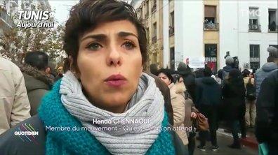 La Tunisie se soulève