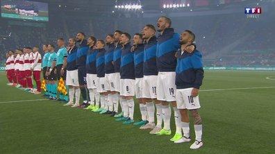 Turquie - Italie : L'hymne italien en vidéo