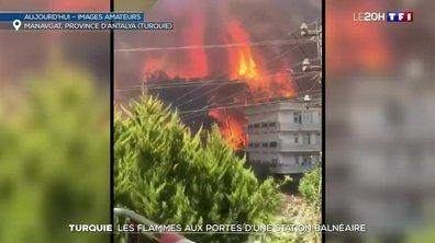 Turquie : la région d'Antalya touchée par plusieurs feux de forêt