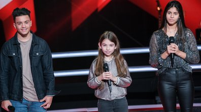 The Voice Kids 2020 - Battle - Alice vs Maya vs Tchavolo chantent « One Last Time (Attends-moi) » d'Ariana Grande ft. Kendji Girac (Team Patrick Fiori)