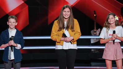 The Voice Kids 2020 - Battle - Noémie vs Tess vs Lohi chantent « Avant toi » de Vitaa & Slimane (Team Jenifer)