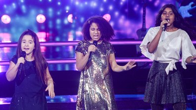 The Voice Kids 2020 - Battle -  Rania vs Flora vs Myriam chantent « Dans un autre monde » de Céline Dion (Team Soprano)