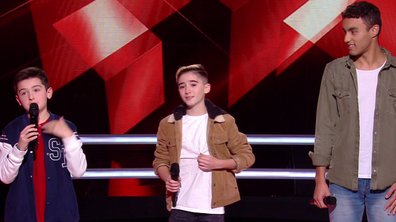The Voice Kids 2020 - Battle - Maxime vs Tony vs Abdellah chantent « Hola Señorita » de Maître Gims et Maluma (Team Kendji Girac)