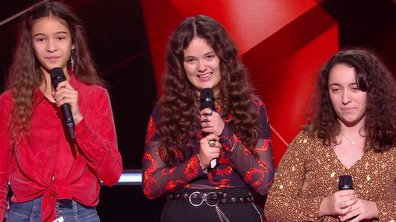The Voice Kids 2020 – Battle - Emilia vs Naomi vs Marilou chantent « Rolling in the Deep » d'Adele (Team Kendji Girac)