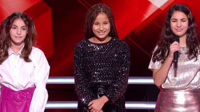 The Voice Kids 2020 – Battle - Sara vs Gabrielle vs Eva chantent « So Am I » d'Ava Max (Team Jenifer)
