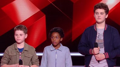 The Voice Kids 2020 – Timeo vs Diodick vs Maxence chantent « In My Blood » de Shawn Mendes (Team Soprano)