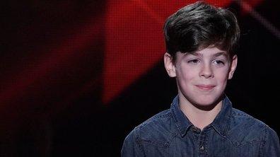 """The Voice Kids 2020 - Arnaud chante """"Tous les cris les SOS"""" de Daniel Balavoine"""