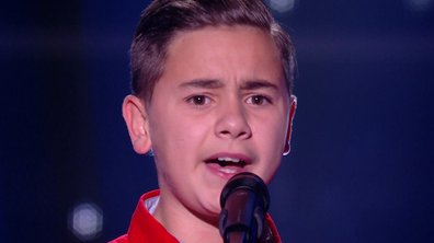 "The Voice Kids 2020 - Mathis chante ""Et maintenant"" de Gilbert Bécaud"