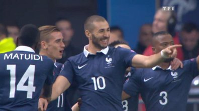 France  1 - 0 Portugal : le but de Benzema