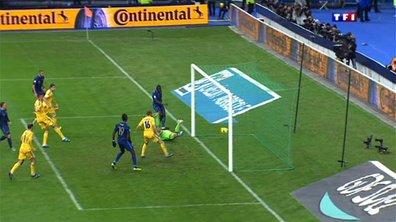 France 1 - 0 Ukraine : le premier but de Sakho