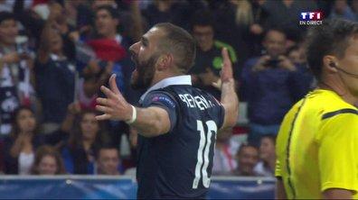 France  3 - 0 Arménie : le but de Benzema