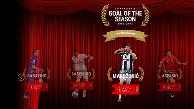 UEFA : découvrez les sept plus beaux buts de la saison et votez pour votre préféré !