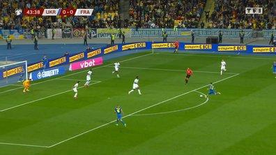 Ukraine - France (1-0) : le but surprise de Chaparenko