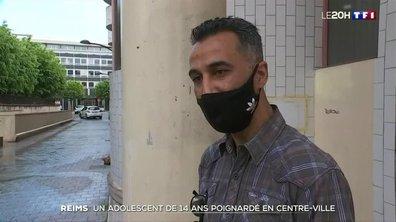 Un adolescent de 14 ans poignardé en plein centre-ville de Reims