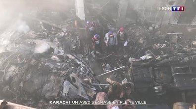 Un Airbus A320 s'écrase en pleine ville de Karachi