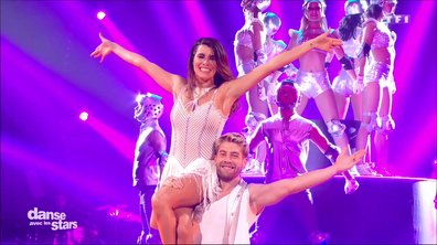Un chacha pour la 2è danse de Karine Ferri et Yann-Alrick sur « Laissez-moi danser» (Dalida)