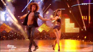 Un chacha en finale pour Laurent Maistret et Denitsa sur « Uptown Funk » (Bruno Mars)