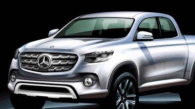 Mercedes-Benz va lancer son pick-up !