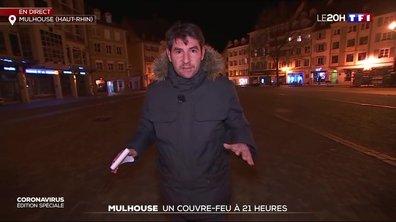 Un couvre-feu mis en place à Mulhouse
