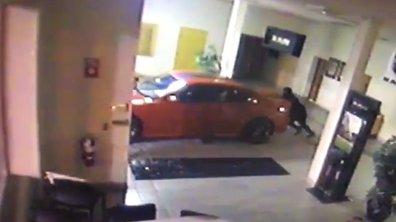 Insolite : Deux filous volent une Dodge Charger SRT Hellcat en 90 secondes chrono