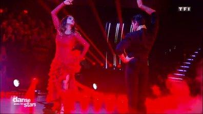 Un flamenco pour la 2è danse de Karine Ferri et Christophe Licata sur Kill Bill