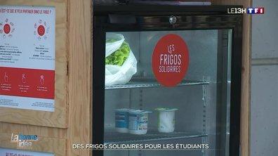 Un frigo solidaire, la bonne idée d'étudiants de Tours