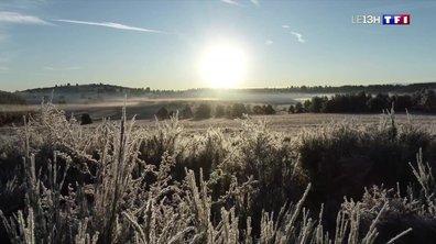 Un froid déjà hivernal à Royat