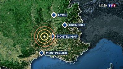 Un gros séisme enregistré entre la Drôme et l'Ardèche