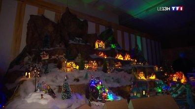 Un Normand réalise une maquette du village du père Noël