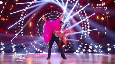 Un Quickstep pour Priscilla Betti et Christophe Licata sur « Sparkling Diamonds » (Moulin Rouge)