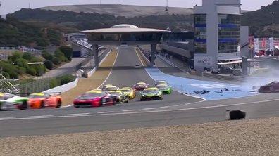 Vidéo : Un crash spectaculaire au Ferrari Challenge !