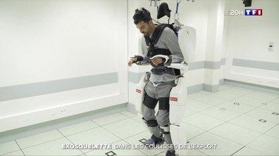 Un tétraplégique parvient à contrôler un exosquelette par sa seule pensée
