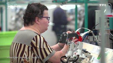 Un travail à l'usine comme thérapie à son handicap