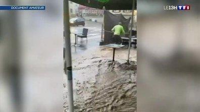 Un village du Haut-Rhin traversé par un torrent de boue après de violents orages