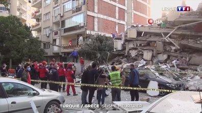 Un violent séisme enregistré en mer Égée a touché la Turquie