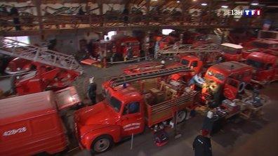 Une association collectionne les matériels de pompiers