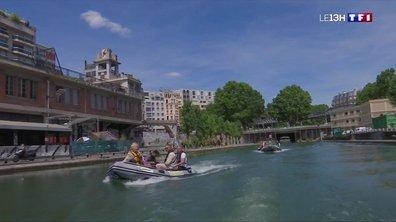 Embarquez pour une balade en zodiac sur le canal Saint-Martin à Paris