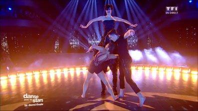 """Une danse contemporaine pour Loïc Nottet, Denitsa Ikonomova et Pietra sur """"Le lac des cygnes"""" (Tchaïkovski)"""
