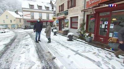 Une dizaine de centimètres de neige par endroits en Auvergne
