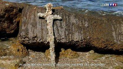 Une épée des Croisades retrouvée en Israël