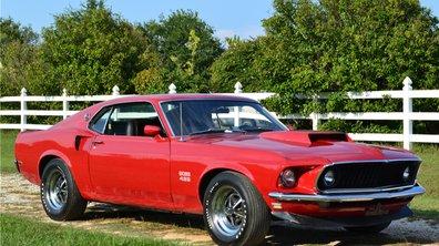 Occasion du jour : une Ford Mustang Boss 429 Fastback de 1969 aux enchères