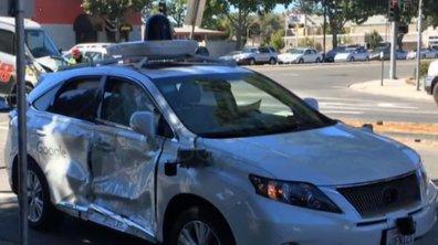 Google : une nouvelle voiture autonome accidentée, mais pas coupable
