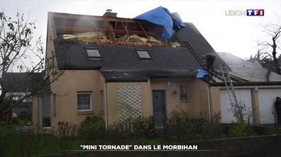Une mini-tornade provoque de gros dégâts à Brech