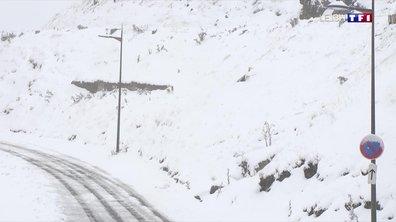 Une neige très précoce à La Mongie