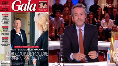 La Une pas du tout posée du jour : le bisou-vent de Macron à Brigitte